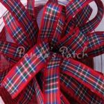 Berisfords Tartan Ribbon 7 Royal Stewart